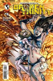 Broken Trinity #3 Wizard World Texas WWT E-Bas Variant Witchblade Top Cow comic book